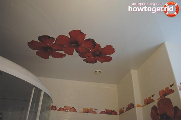 Impressió decorativa i fotogràfica en sostres de tela