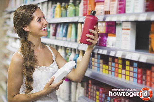 Wie man das richtige Shampoo für die Haare wählt