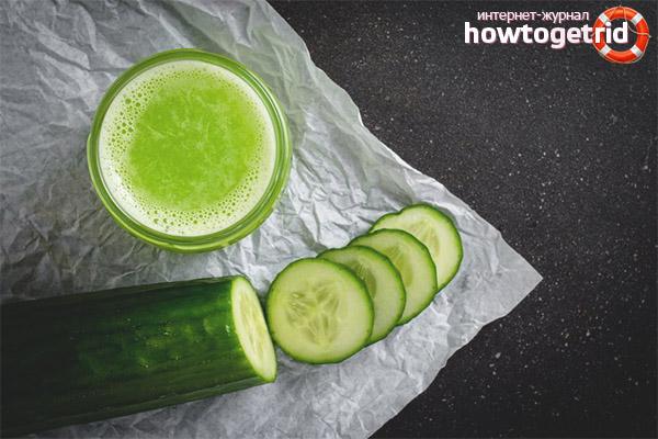 Как да си направите краставичен сок за зимата