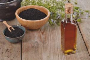 Čierny rascový olej počas tehotenstva