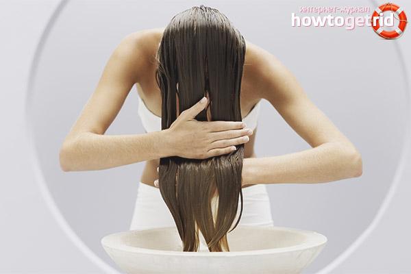 Pflege für lockiges Haar