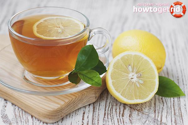 Die Vor- und Nachteile von Zitronentee