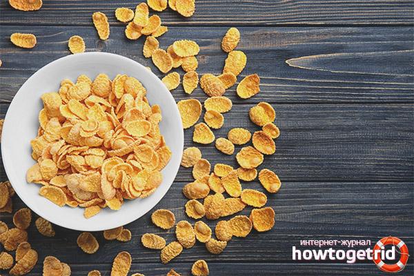 Die Vor- und Nachteile von Cornflakes