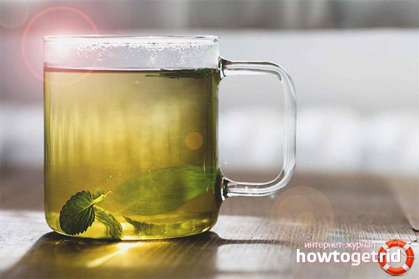 Egenskaperna hos grönt te