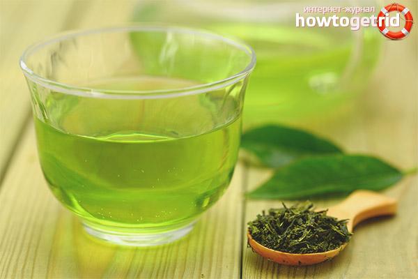 Effekterna av grönt te på kvinnor