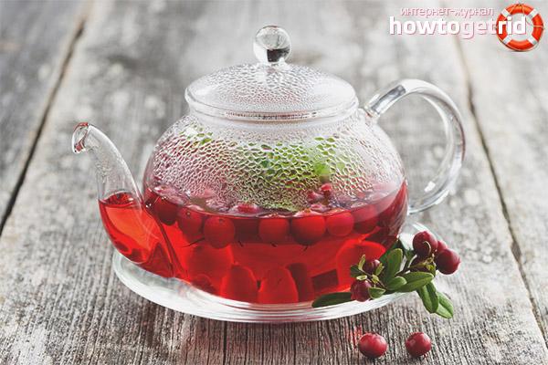 Brūkleņu tēja