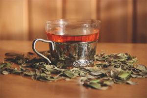 Ceai de frunze de Lingonberry