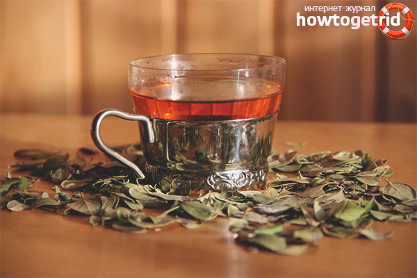 Preiselbeerblatt-Tee