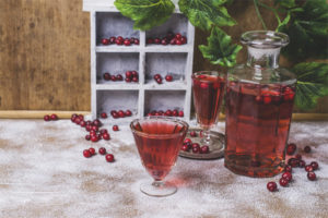 Tintura de Lingonberry al vodka