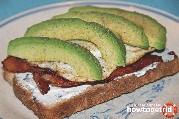 Avocado-Sandwich-Rezepte
