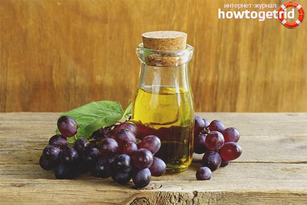 Algorytm oleju z pestek winogron