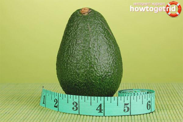 Avocado pentru slabit