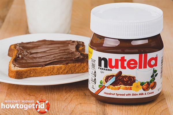 Mājas Nutella