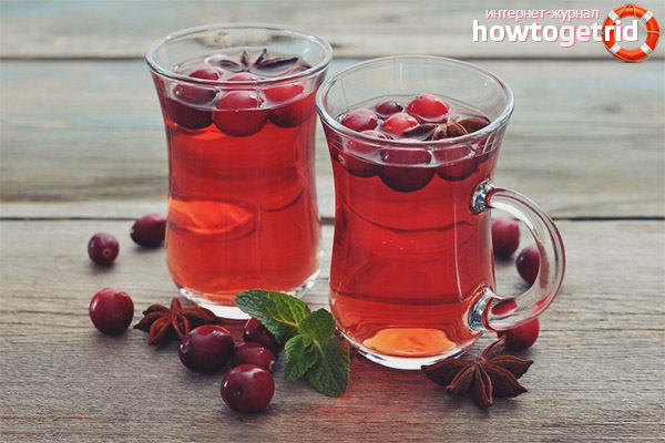 Wie man Cranberry Tee macht