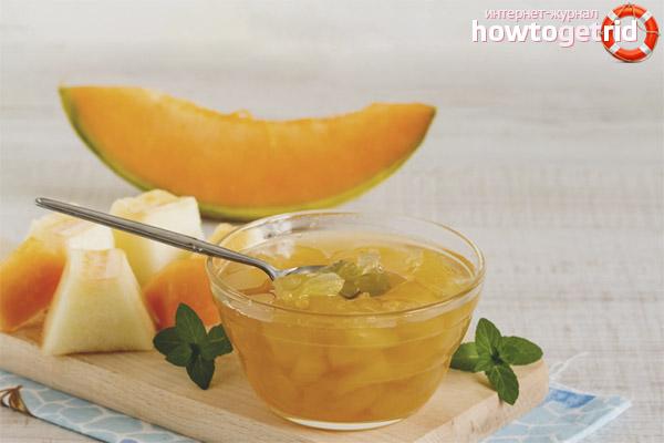 Hur man gör melon sylt i en långsam spis