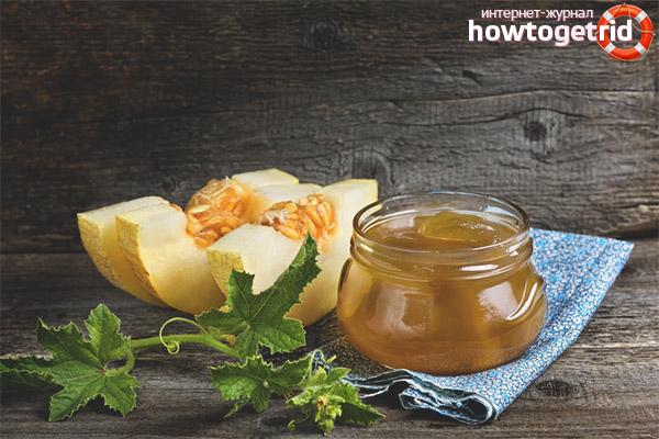 Hur man gör melon sylt