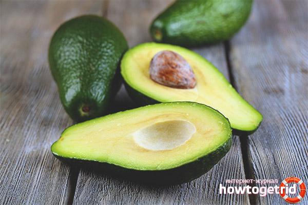 Wie man eine Avocado wählt
