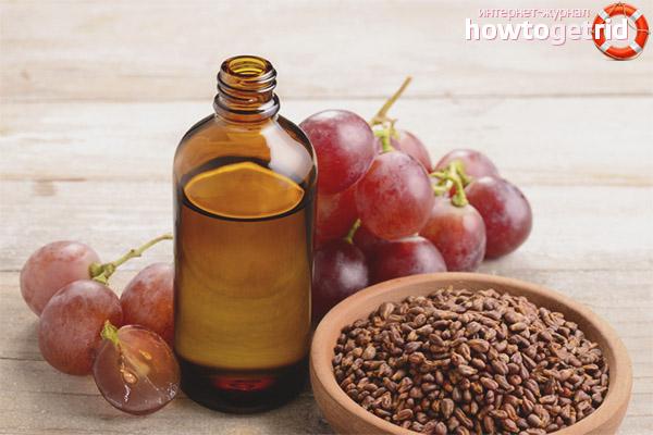Maski do włosów z olejem z pestek winogron