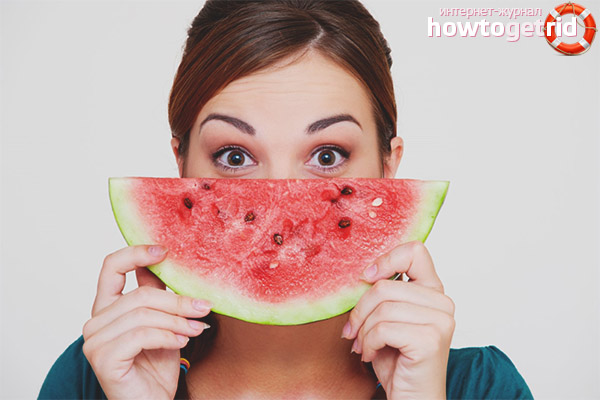 Ist es möglich, Wassermelone zu essen, während Sie Gewicht verlieren