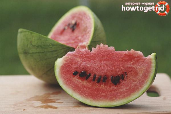Kann ich Wassermelone mit Diabetes essen?