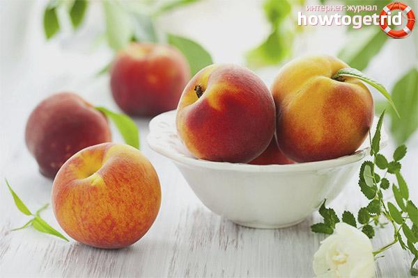Vai ir iespējams persiki diabēta ārstēšanai