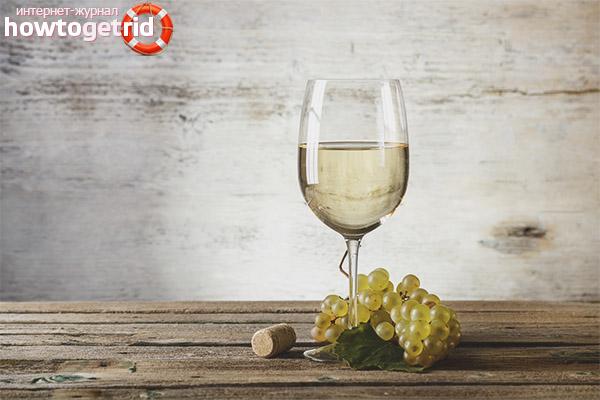 Els avantatges del vi blanc