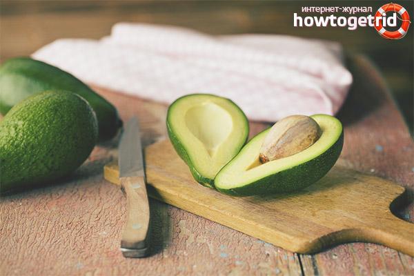 Utilizarea avocado pentru pierderea în greutate
