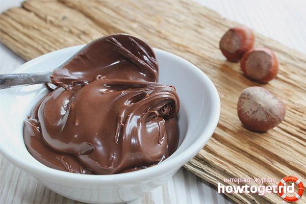 Mājas Nutella receptes
