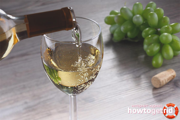 Rượu khô trắng có ích gì