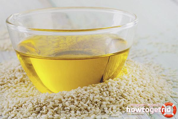 Kas ir noderīga sezama eļļa