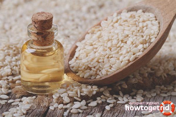 Sezama eļļas izmantošana kosmetoloģijā
