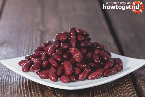 Wie und wie viel rote Bohnen zu kochen