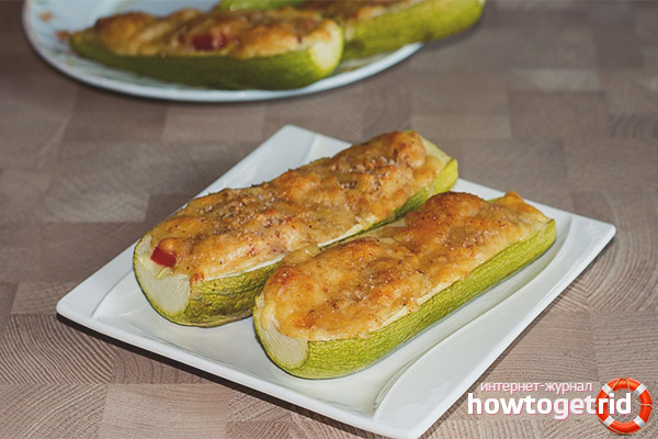 Zucchini im Ofen