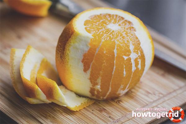 So schälen Sie eine Orange schnell und ohne Spray