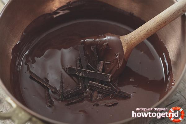 Com fer llet amb xocolata fosca
