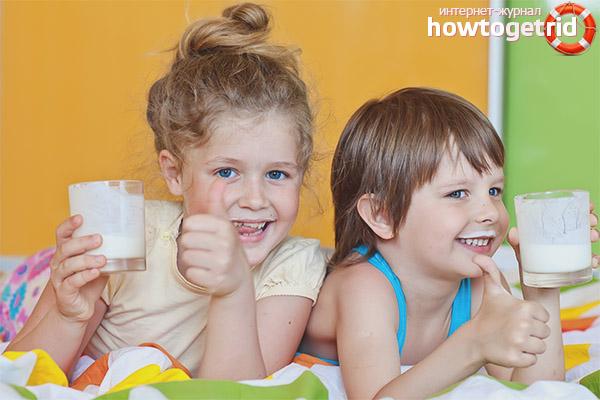 Welche Art von Kefir darf man Kindern geben?