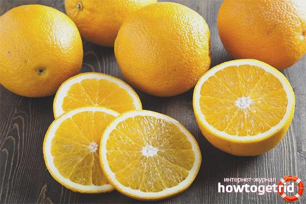 Възможно ли е да ядете портокали през нощта