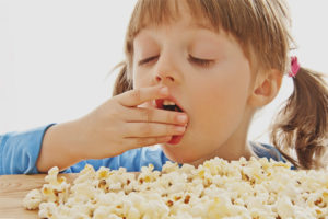 Popcorn pre deti