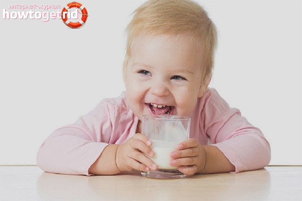 Die Folgen der frühen Einführung von Kefir in die Ernährung eines Kindes