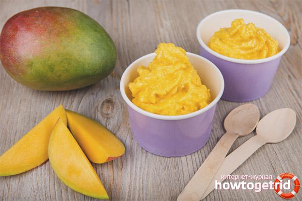 No kāda vecuma bērniem var dot mango