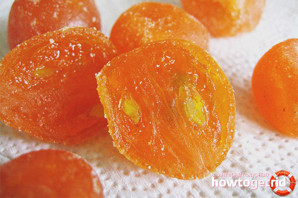 Kumquat žāvētu augļu īpašības un priekšrocības