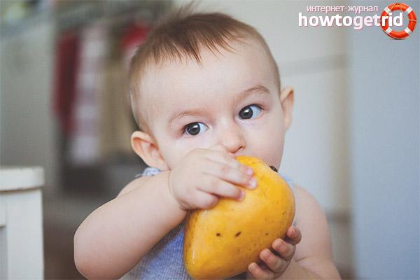 Mango ieviešana uzturā