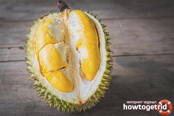 Maneiras de usar polpa de durian