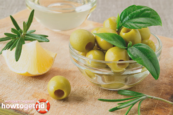 Konservētas olīvas