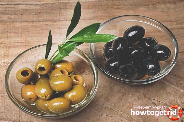 Olīvas un olīvas