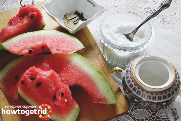 Klasický recept na nakladané melóny