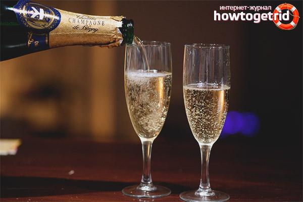 Šampanieša kvalitātes noteikšana