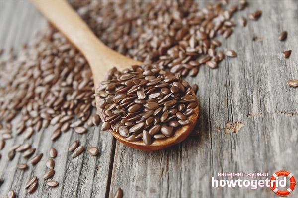 Keten tohumu kullanımı için endikasyonlar