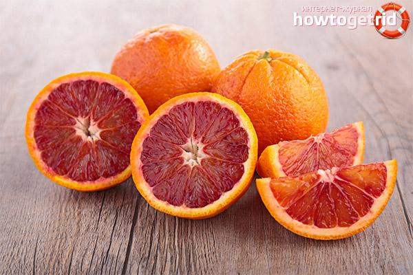 Какви са ползите от червените портокали