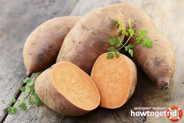 Полезни свойства на сладкия картоф